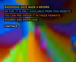 Radiohead- It's about damn time!